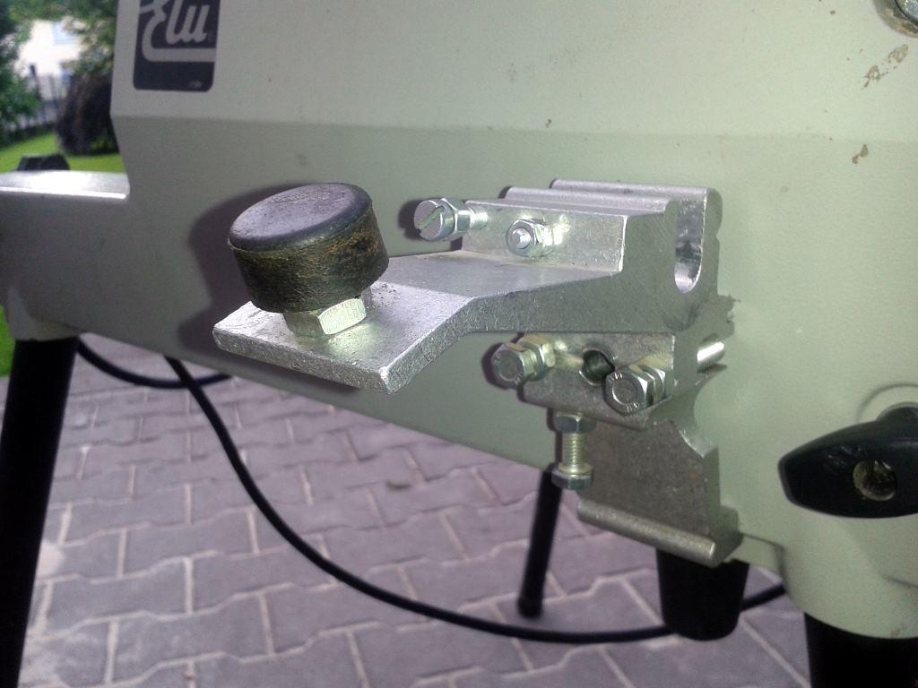 ELU Schiebetisch Montageanleitung Werkzeug